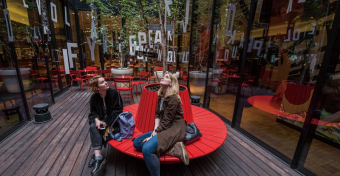 莎翁絮語 citizenM Bankside Secret Garden