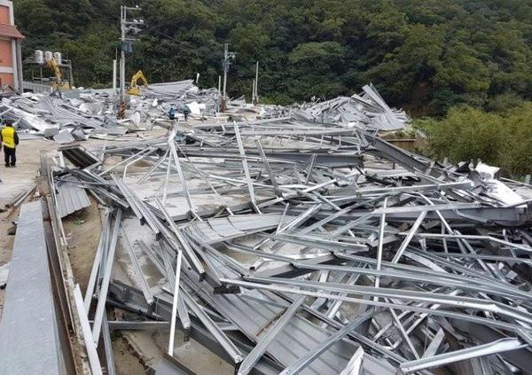 落實保護環境政策 新北八里1,513坪違建強制拆除