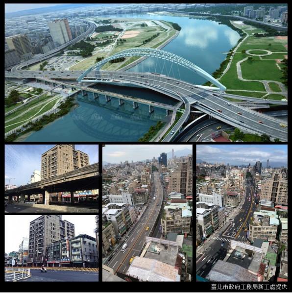 中正橋引道拆除,北市府將推動整體空間發展新戰略,重現中正城南當地風華